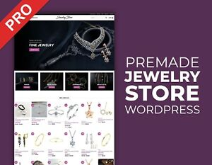 Jewelry Dropshipping Store Ready To Go Business Website