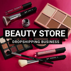 Beauty Store Ready To Go Dropshipping Business Website