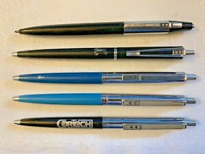 Vintage Paper Mate Pens Lot Of 5 Estate Find