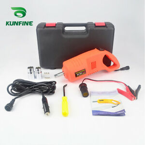 Dc12v Electric Impact Wrench 480 N M 1 2 Drive Power With Portable Hand Box