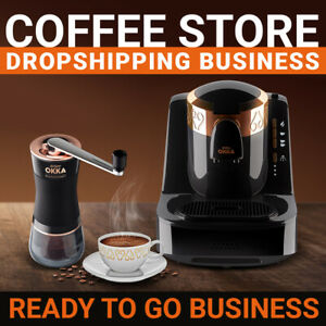 Coffee Store Dropshipping Business Ready To Go Website