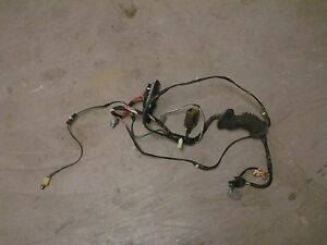 1995 Ford F 250 350 Truck Front Power Door Wiring Harness Passenger Right Oe