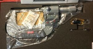 Spi 13 833 9 Electronic Spline Micrometer 1 2 Range 00005 Resolution Data Op