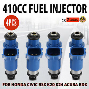 Nice 4 Denso Fuel Injectors Rdx 410cc 16450 Rwc A01 For Honda Acura 96 06 Best