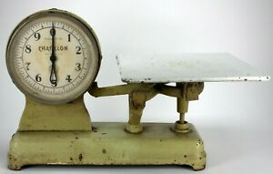 Vintage Chatillon 10 Lb Grocery Store Counter Top Butcher Scale