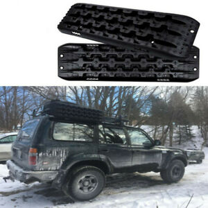 Recovery Tracks Offroad Black Sand Snow Mud Traction Tire Ladder Truck Wrangler