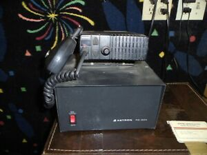 Astron Rs 20a Power Supply For Ham Radio With Johnson Radio