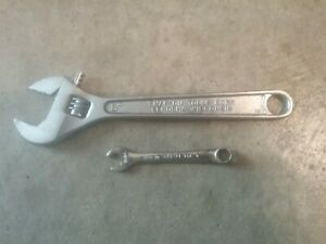 Lot Of 2 Snap On Blue Point Wrenches 8 Adjustable 11 32 Midget Oxi 11