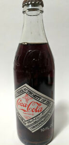COCA-COLA 75th ANNIVERSARY 1977 Atlanta  GA Glass Bottle Co. of Roanoke Sealed