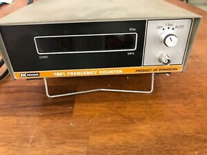 Used Vintage Bk Precision 1801 Frequency Counter Untested