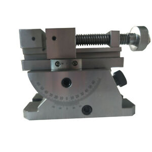 Vise Universal With 360 Degree Swivel Angle Plate Milling Opening 70 80mm