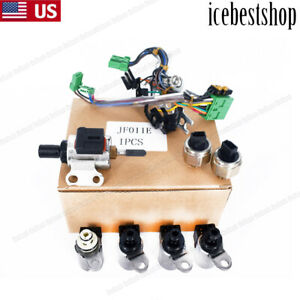 New Oem Jf011e Re0f10a F1cja Valve Body Solenoids For Nissan Altima Sentra Dodge