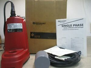 Itt Red Jacket Sump Pump 4111007h Model rep3a 12a 1phase 60hz 115v Nib