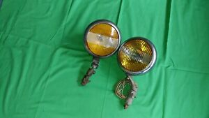 1930 s 1940 s Vintage Unity Two Color Fog And Driving Light Model S 4