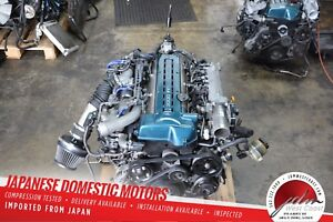 2jzgte R154 Mt 5 Speed Jdm Toyota Aristo Is300 Engine 2jz Twinturbo Vvt i 3 0l
