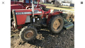 Massey Ferguson 205 4 Parts Or All That Is Left
