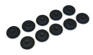 10 1 Inch Black Rubber Flush Mount Hole Plug Sheet Metal Auto Body Panel