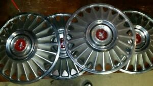 Set Of Four 4 1967 68 Ford Mustang Hub Caps Wheel Covers