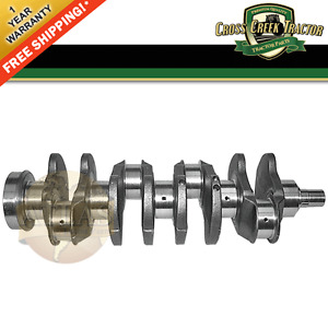 Crankshaft30 New John Deere Tractor Crankshaft Jd 4 276 2630 2640 550 555
