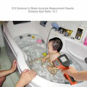 Dt750 Laser Lcd Digital Ir Infrared Thermometer Temperature Gun Thermometer 3z