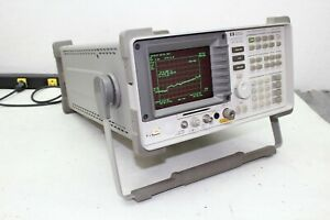 Hp Agilent 8593a Spectrum Analyzer W Opt 26 102 4 101 3 5 Mm 26 9 Ghz Cal d