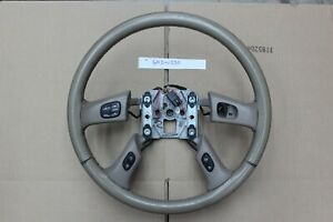 Gm Oem 2003 06 Silverado Tahoe Sierra Yukon Leather Steering Wheel