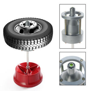 Heavy Duty Rim Tire Cars Truck Portable Hubs Wheel Balancer W Bubble Level Us