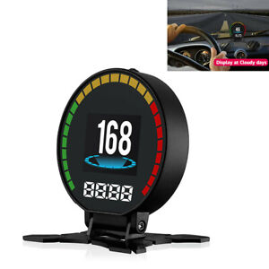 Digital Speed Car Monitor Head up Display Obd Car Tuning Accessories Speedometer
