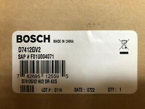 Bosch D7412gv2 Security Control Panel