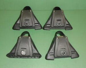 Lot Set Of 4 Yakima Q Towers For Q Clip Roof Rack Mounts Round Bar