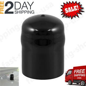 Curt 21811 2 5 16 Trailer Ball Cover Hitch Tow Towing Black Rubber Trailer