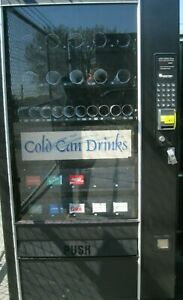Combination Canned Soda snack Vending Machine With Credit Card Reader