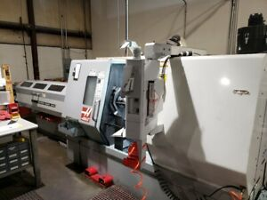 Used Haas Tl 25 Cnc Turning Center Lathe W Sub Spindle 30hp Servo 300 Barfeed 06