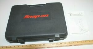 Snap On Tools Cts561 Cts561cl Cordless Screwdriver Case Manual Only