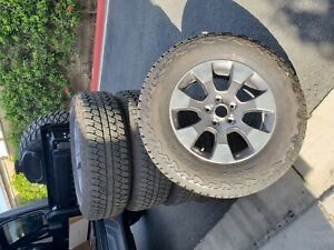 2019 Jeep Wrangler Jl Unlimited Sahara Oem Wheels And Tires Like New