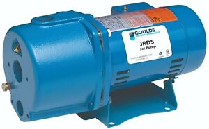 Goulds Jrd10 1hp Convertible Water Well Jet Pump Single Phase