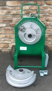 Greenlee 555 Electric Pipe Bender 1 2 2 Rigid Shoe Group awesome Shape