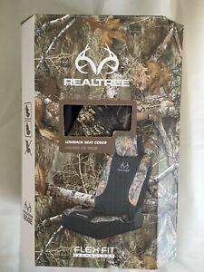 Realtree Lowback Seat Cover Camo