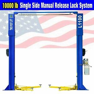 Qys 10 000lb Capacity Car Lift L1100 2 Post Lift Car Auto Truck Hoist Overhead