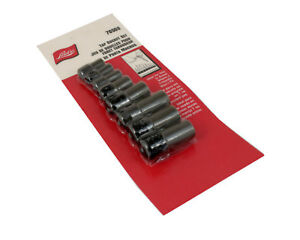 Tap Socket Set Lisle 70500 Eight Piece 1 4 And 3 8 Drive Tap Holders