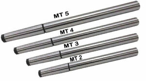 Lathe Alignment Test Bars Mt2 Mt3 Mt4 Mt5 Alloy Steel New 4 Piece Combo Set