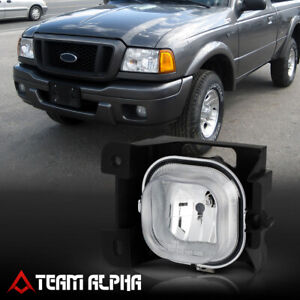 Fits 2004 2005 Ford Ranger Lh Driver Side Clear Oe Replacement Bumper Fog Light