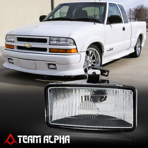 Fits 1999 2001 Chevy S10 blazer Xtreme lh rh clear Oe Replacement Fog Light Lamp