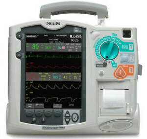 Philips Heartstart Mrx 12 lead Pacing Spo2 Nibp Etco2 Bluetooth And Qcpr