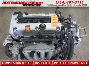 Acura Tsx Engine K24a Jdm Long Block Replacement For K24a2 Fits 03 08 Rbb Head