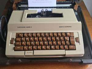 Typewriter Smith Corona
