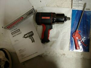 New Craftsman 3 4 Twin Hammer Impact And Napa Tele Blow Gun