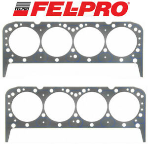 Fel Pro Performance 1043 Head Gaskets 2 4 08 x 039 For Chevy 283 327 350 383