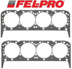 Fel Pro Performance 1044 Head Gaskets 2 4 2 x 051 For Chevy 283 327 350 383 400