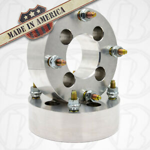 4 Lug Wheel Spacers 4x4 25 To 4x4 25 4x108mm Wheel Adapters 2 Thick X2